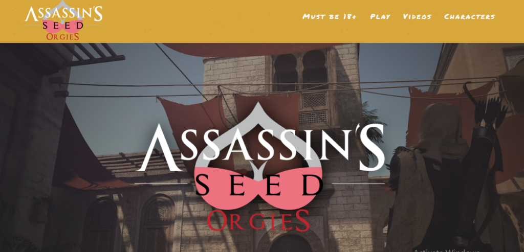 Quickie Assassin's Seed Orgies Review